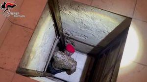 Un bunker sofisticato nascosto in casa: la scoperta a Taurianova. FOTO - VIDEO