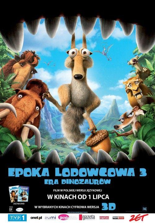 Epoka Lodowcowa 3 / Ice Age 3 (2009) BRRip XviD Dubbing PL