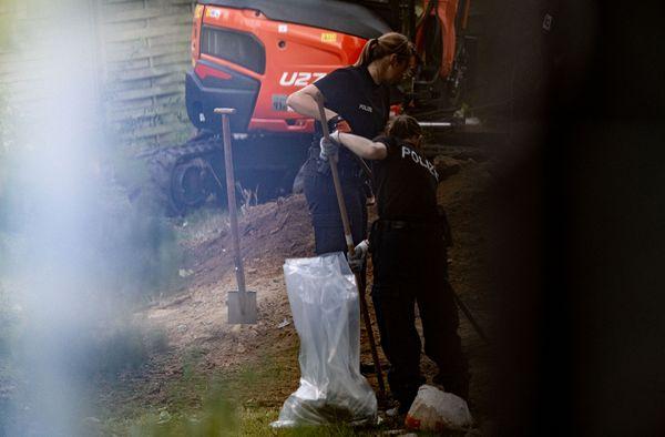 Polizei durchsucht Garten mit Bagger im Fall Maddie