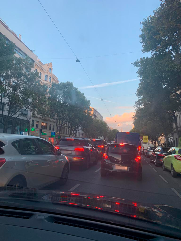 Verkehrskollaps in Wien – massiver Stau im Frühverkehr