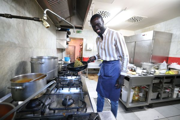 Afrikanische Fusionsküche bei Dampha KitchenPop-up