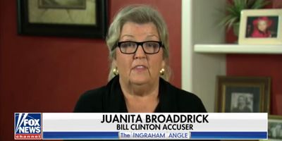 Juanita Broaddrick comments on Christine Blasey Ford