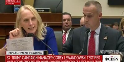 Corey Lewandowski Launches Website To Run For Senate During House Hearing