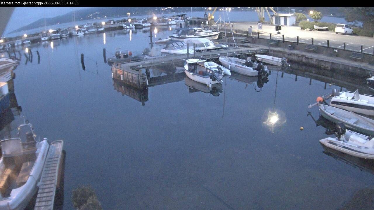 Webkamera hos Drøbak båtforening