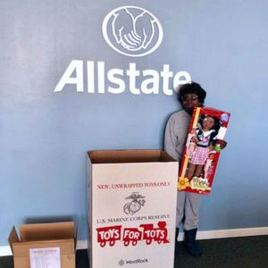 We collected toys for the Marine Toys for Tots Foundation.