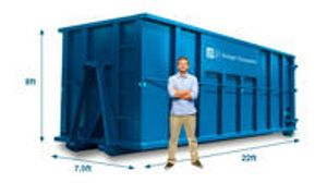 A 40 yard dumpster is our biggest dumpster and should only be used if you have excessive amounts of waste. Projects associated with this size include large home cleanouts, major interior renovations, and community cleanups.