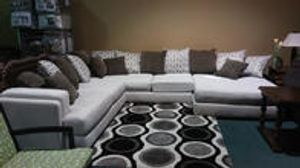 Modern sectionals in a variety of colors