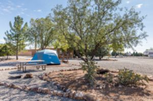 Our deluxe tent sites are a fantastic option for travelers!