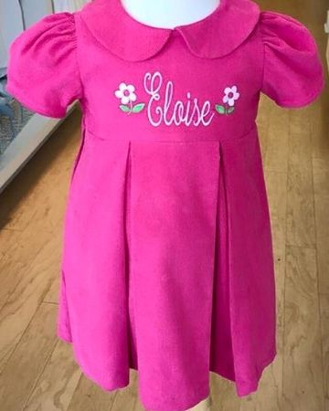 Girl's Clothing with Monogram