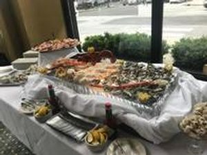 Check out the seafood at our restaurant.