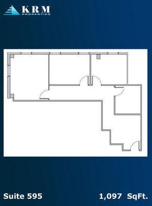 Suite 595- 1,097 SqFt.