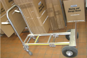 We have a convenient stock of U-Haul boxes for your storage and moving needs.