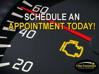 A blinking check engine light usually indicates a severe engine misfire, allowing unburned fuel to be dumped into the exhaust system. It can quickly raise the temperature of the catalytic converter to a point where there is damage. If you see your CHECK ENGINE light on, Schedule An Appointment With Us Today! http://www.5starconcord.com/