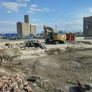 Premier Demolition is working with Tarlton to make way for more entrepreneurs to come to St. Louis #Cortex #STL #demolition #IKEA