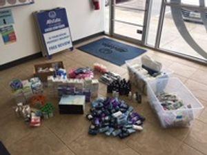 Supply drive for our local Red Cross chapter was very successful!  Allstate is donating over $100,000 to the Red Cross across Washington, Oregon and Idaho on top of all the supplies the participating agencies collected.