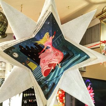 Stop by this weekend for the Salado Christmas Stroll. Pick out cool paper craft Stars to hang up for the holidays.