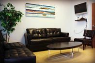 The interior of Bright Smiles Dental.