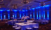 We're an event lighting company that works with each client in person to create customized designs specifically to match what you had in mind! No project is too big.