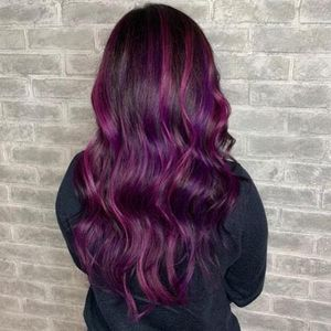 Hair style and color