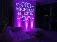 We specialize in uplighting for your special events and weddings.