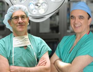Dr. Wayne Waltzer and Dr, Frank Darras