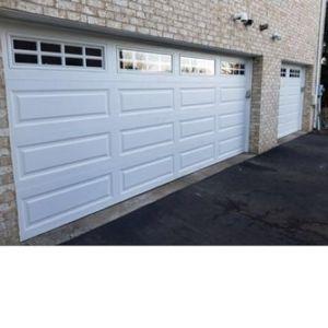 2 new Garage door installation in Pittsburgh area18.7r-v insulation
