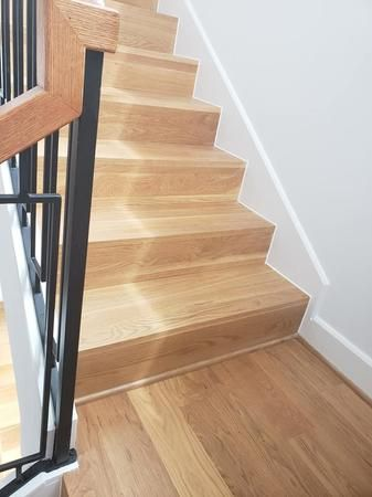 Would you like to redo the wooden stairs in your home? We can help!