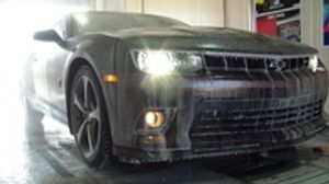 Hot Water Touch Free Car Wash