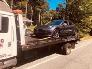 Even electric cars can break down, we are here to help!