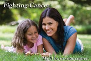 Fighting cancer we'll be in your corner.
