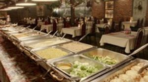 Part of the World-Famous Buffet at Hotel Nauvoo