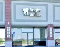 The exterior of Bright Smiles Dental.