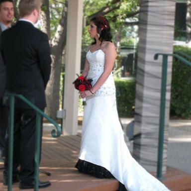 One of our gorgeous brides!