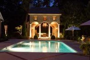 Nashville Pool, Patio and Outdoor Structure Lighting.