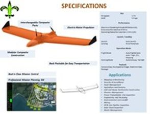 Drone for surveying