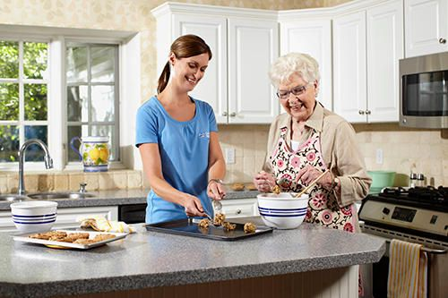 Dietary assistance & planning and assistance with meal preparation.