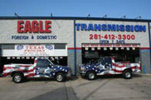 Eagle Automotive & Transmission is a reputable auto repair and transmission shop in Pearland, TX.
