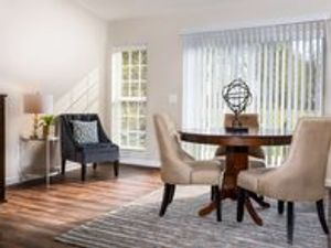 Grimes apartment rental by Redwood Living. Redwood Grimes single story open concept homes natural light backyard