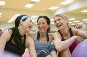 Lifelong friendships are built at our Franciscan Health Fitness Centers.