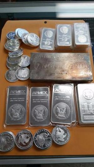 No shortage of silver here at Grove City Coins & Currency!