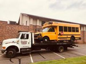 We can even tow some buses and other commercial vehicles!