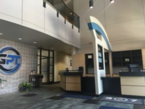 Lobby of Gillette Physical Therapy building located in Gillette, Wyoming.
