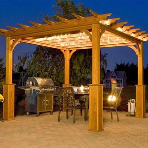 New Build of a Backyard Pergola