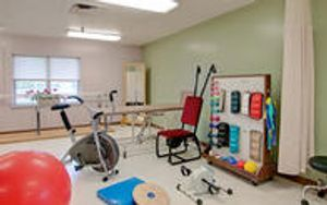 Willowdale Village therapies room.