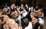 The Wedding Party having a  blast