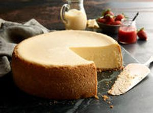 Two-Fork Cheesecake