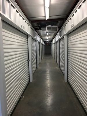 Our units feature easy drive-up access with a concrete surface and wide lanes between building units.