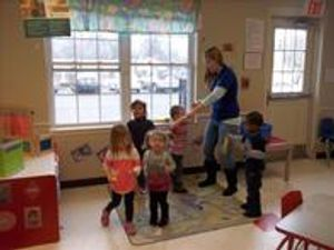 Developing our gross motor skills through music and movement!