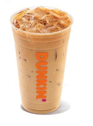 Dunkin' Butter Pecan Iced Coffee