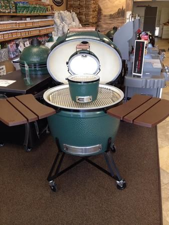 We have different sizes of The Big Green Egg!